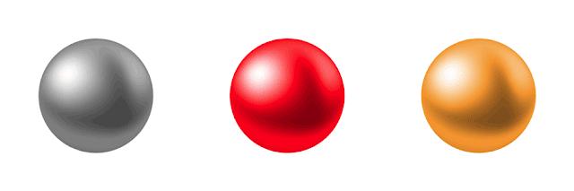 クーゲル金銀赤