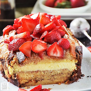 Stuffed French Toast with cream cheese