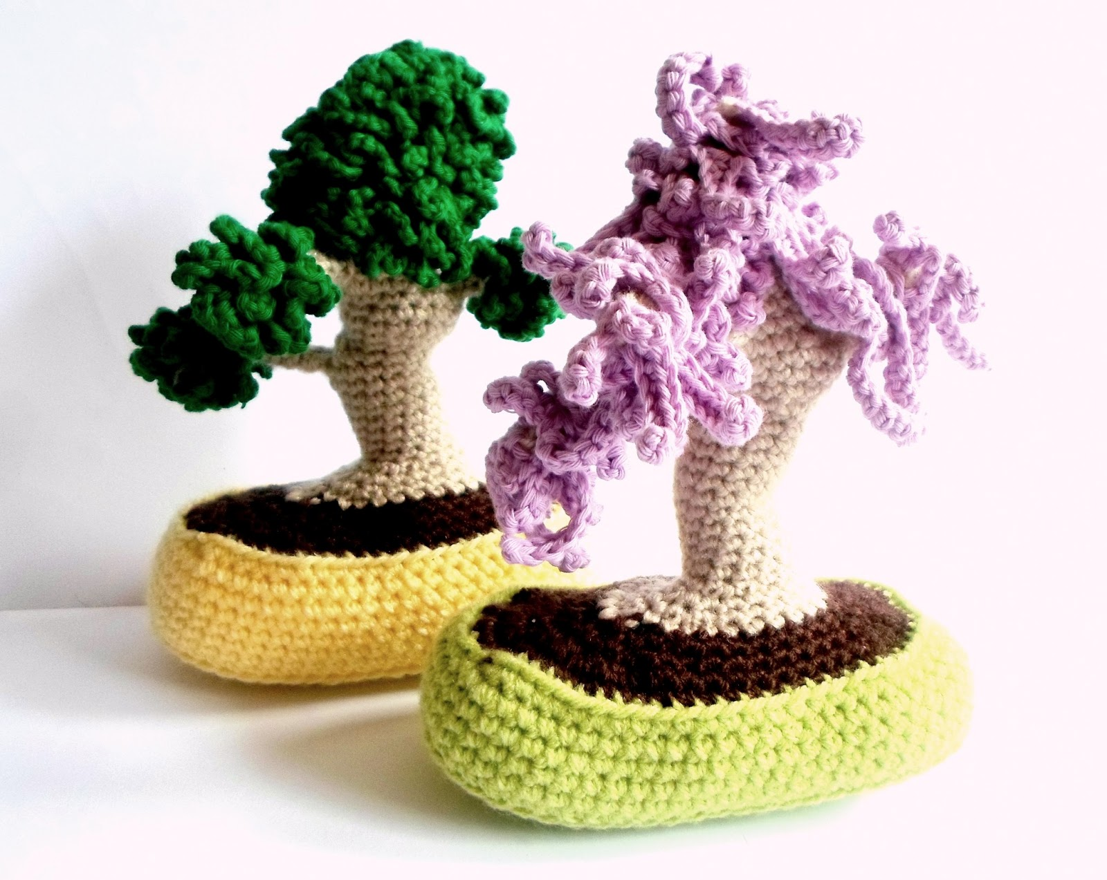 Bonsai Aarde Crochet Bonsai Trees A La Sascha Bloglovin