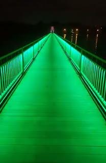 Sallanan Köprü Işıklarla Renklendirildi,adana haberleri,adana haber,adana son dakika,,manşet adana adanahaber,manset adana