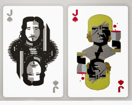 Tyrion Lannister and Jon Snow - Playing Cards