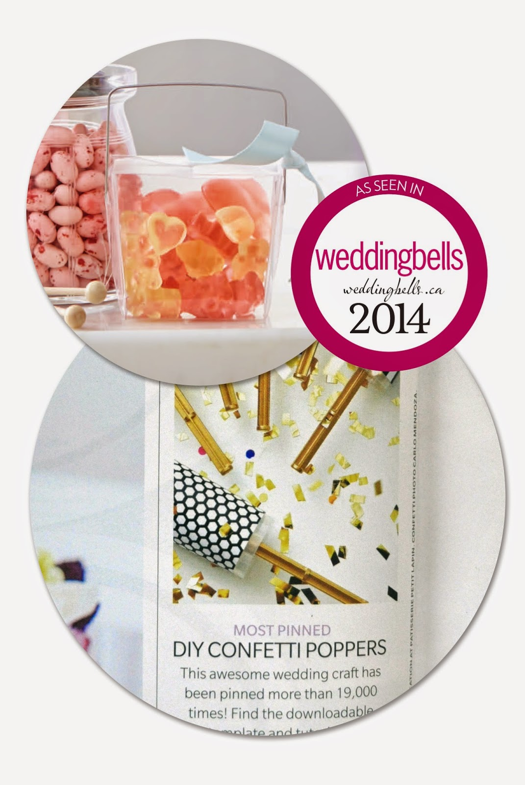 diy wedding inspiration as seen in Weddingbells magazine