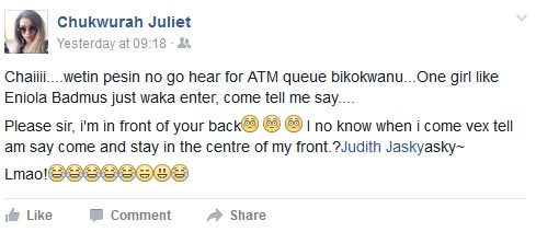 LMAO! You need to see what happened to this lady at the ATM