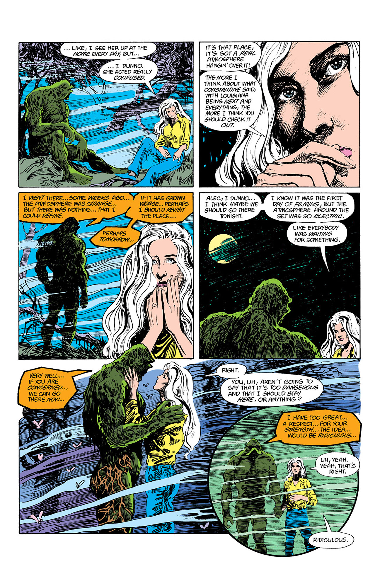Swamp Thing (1982) Issue #41 #49 - English 19