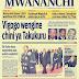 magazeti ya leo jumatano tar 6 Aprili, 2016