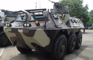 Anoa Perannya bagi Infanteri Mekanis Angkatan Darat