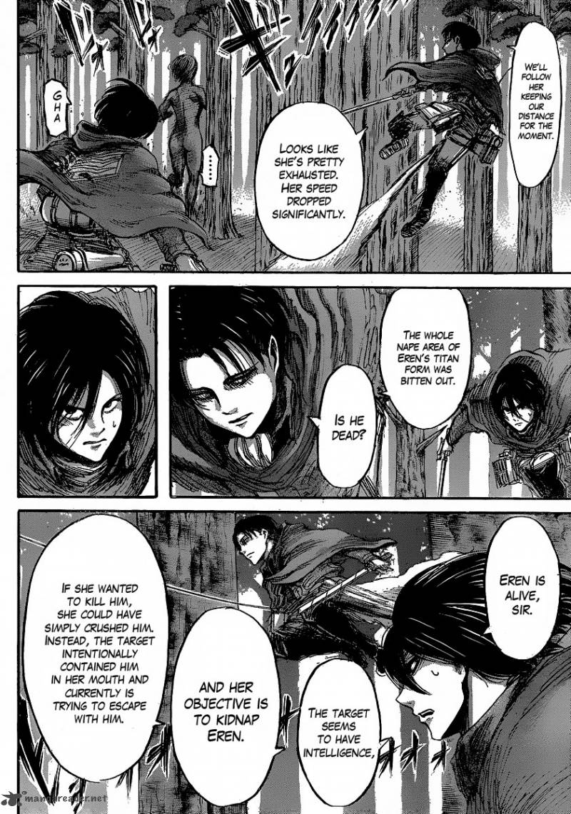 Shingeki no Kyojin Ch 30: The Defeated