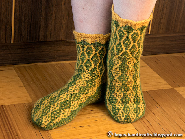 Mosaiikmustriga sokid / Mosaic Socks