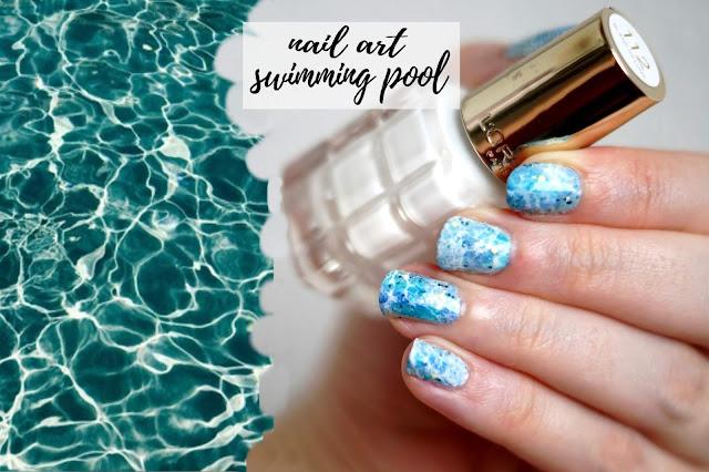 nail art swimming pool