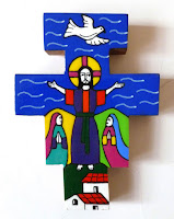 Unknown Salvadoran Artist-Easter Sunday Cross