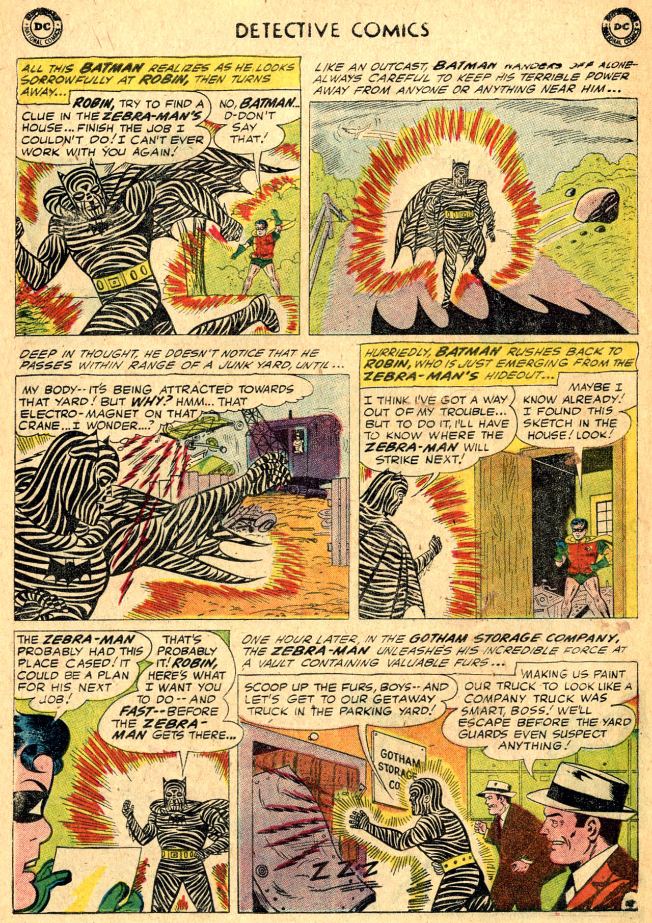 Read online Detective Comics (1937) comic -  Issue #275 - 12