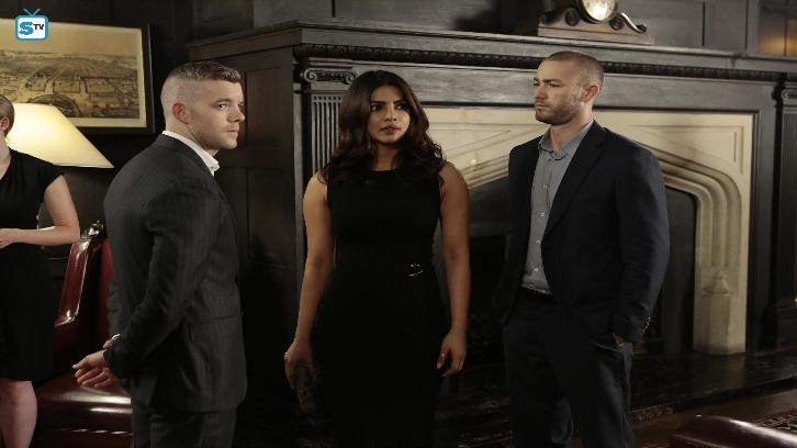 Quantico - Episode 2.05 - KMFORGET - Promo, Interview, Promotional Photos & Press Release