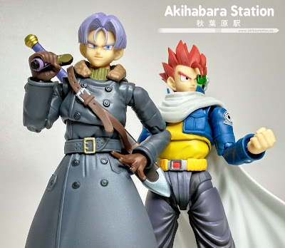 "Review de los S.H.Figuarts ""Trunks y Time Patroler"" de Dragon Ball Xenoverse."
