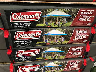Stay cool this summer under the Coleman Instant Eaved Shelter