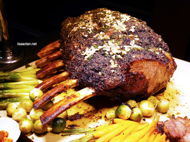 Slow Roasted Prime Beef Rib