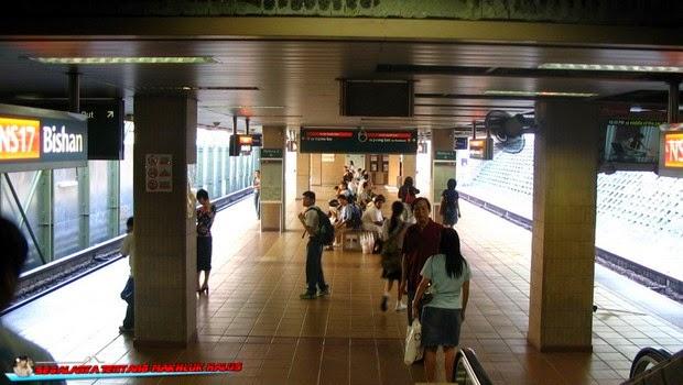 Stasiun Kereta Api MRT Bishan - Singapura