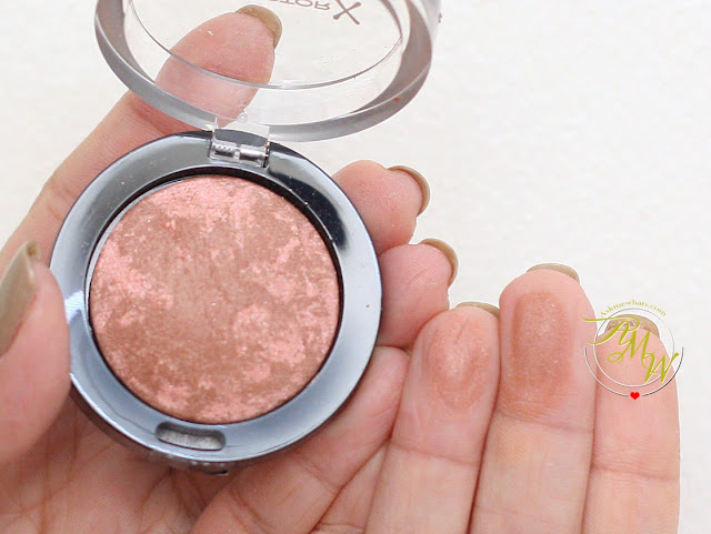 a swatch photo of Max FactorX Creme Puff Blush in Alluring Rose
