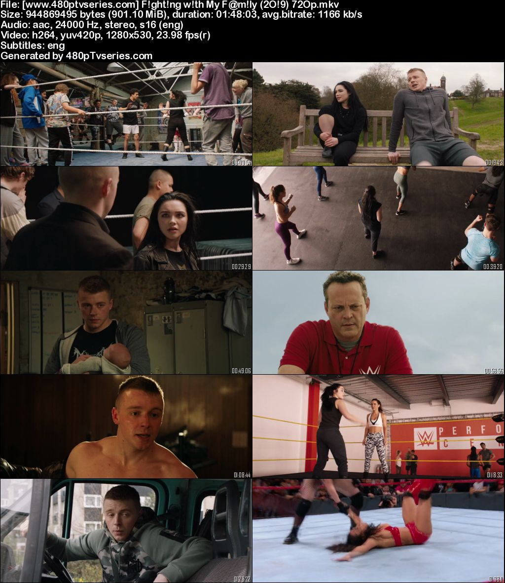 Download Fighting with My Family (2019) 900MB Full English Movie Download 720p Web-DL Free Watch Online Full Movie Download Worldfree4u 9xmovies