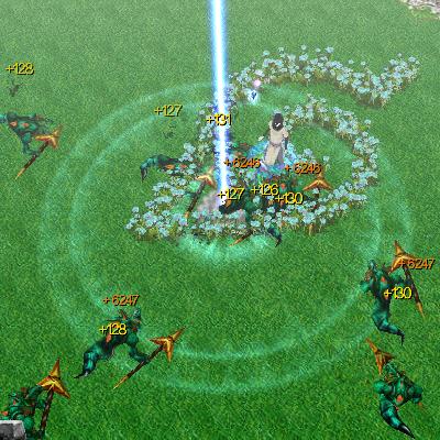 laser beam naruto castle defense