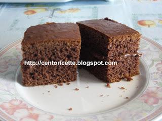 Torta al cacao con nutella