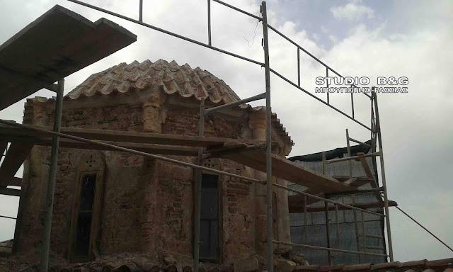 Ολοκληρώθηκαν οι εργασίες αποκατάστασης του Ιστορικού χιλιόχρονου πλέον Ιερού Ναού της Αγίας Σοφίας στο Ναύπλιο