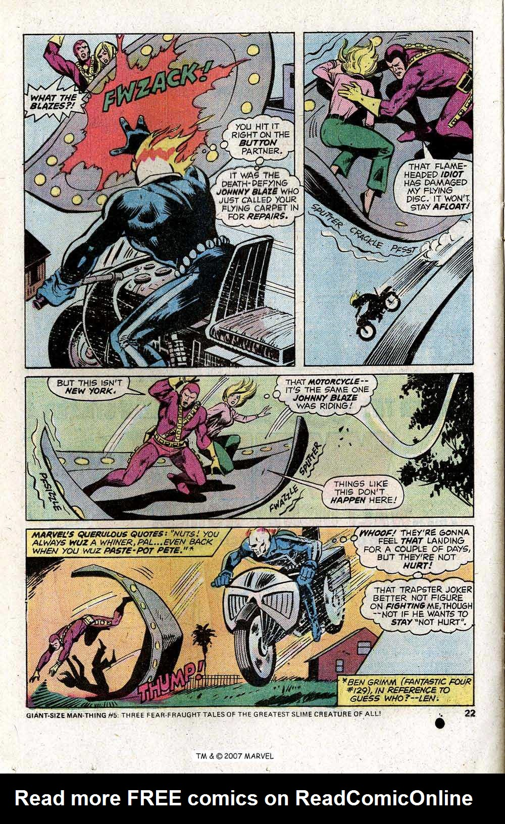 Ghost Rider (1973) Issue #13 #13 - English 24