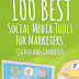 100 Best Social Media Tools For Marketers (Latest And Greatest)