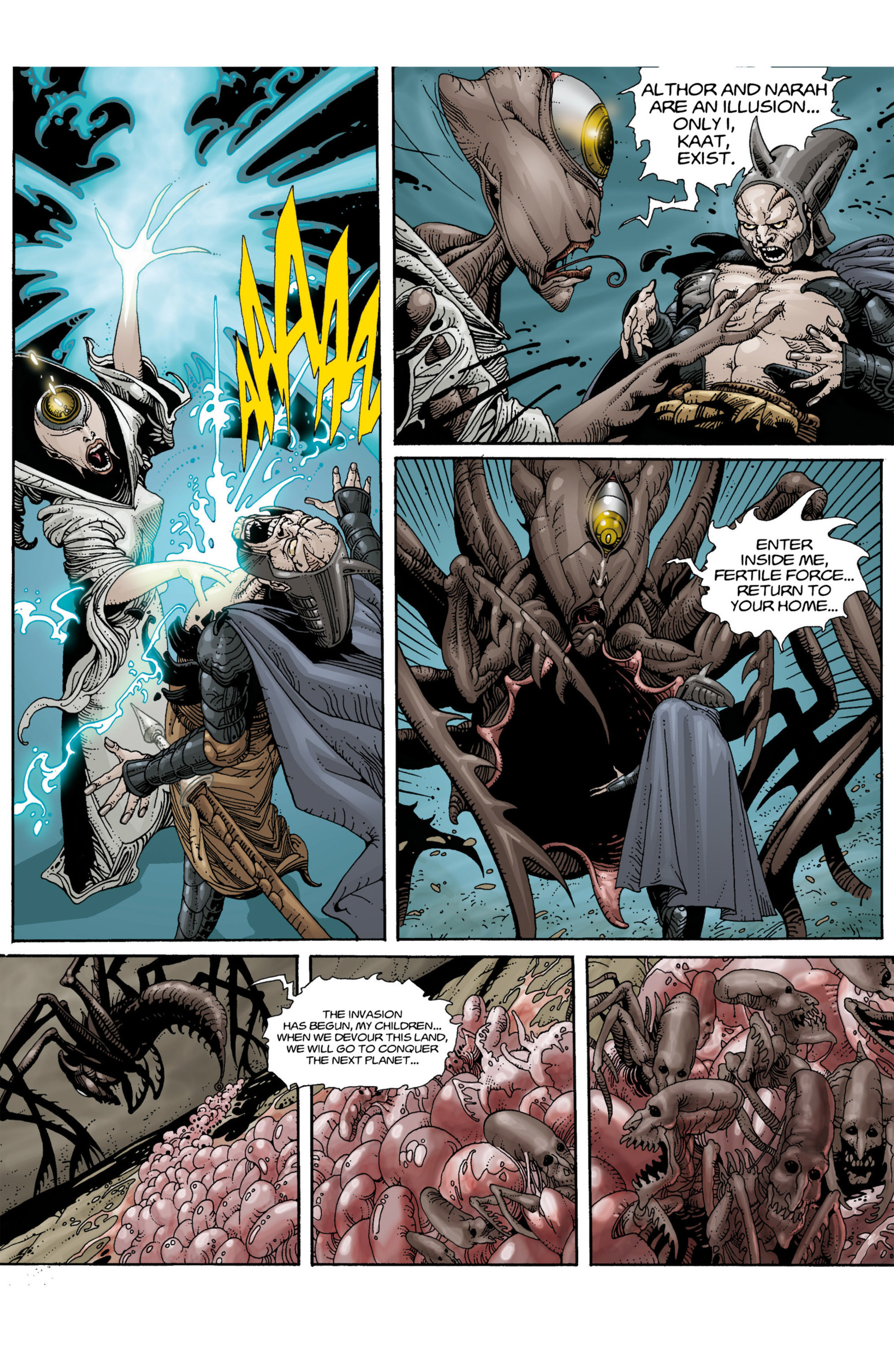 Read online Alejandro Jodorowsky's Screaming Planet comic -  Issue #1 - 21