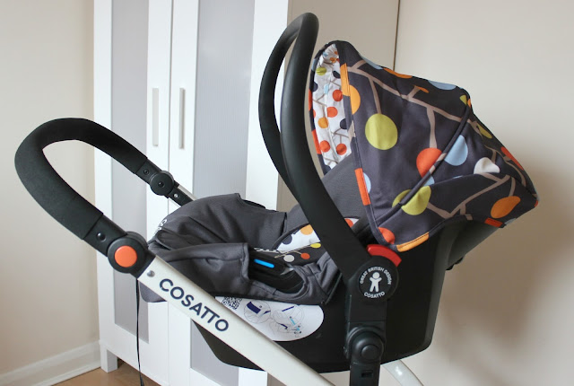 British designed Cosatto Fable Giggle 2 Travel System Car Seat
