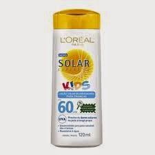 Protetor Solar Loreal para crianças