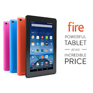 Fire Tablet, 7inch Display, Wi-Fi, 8 GB - Includes Special Offers-Black