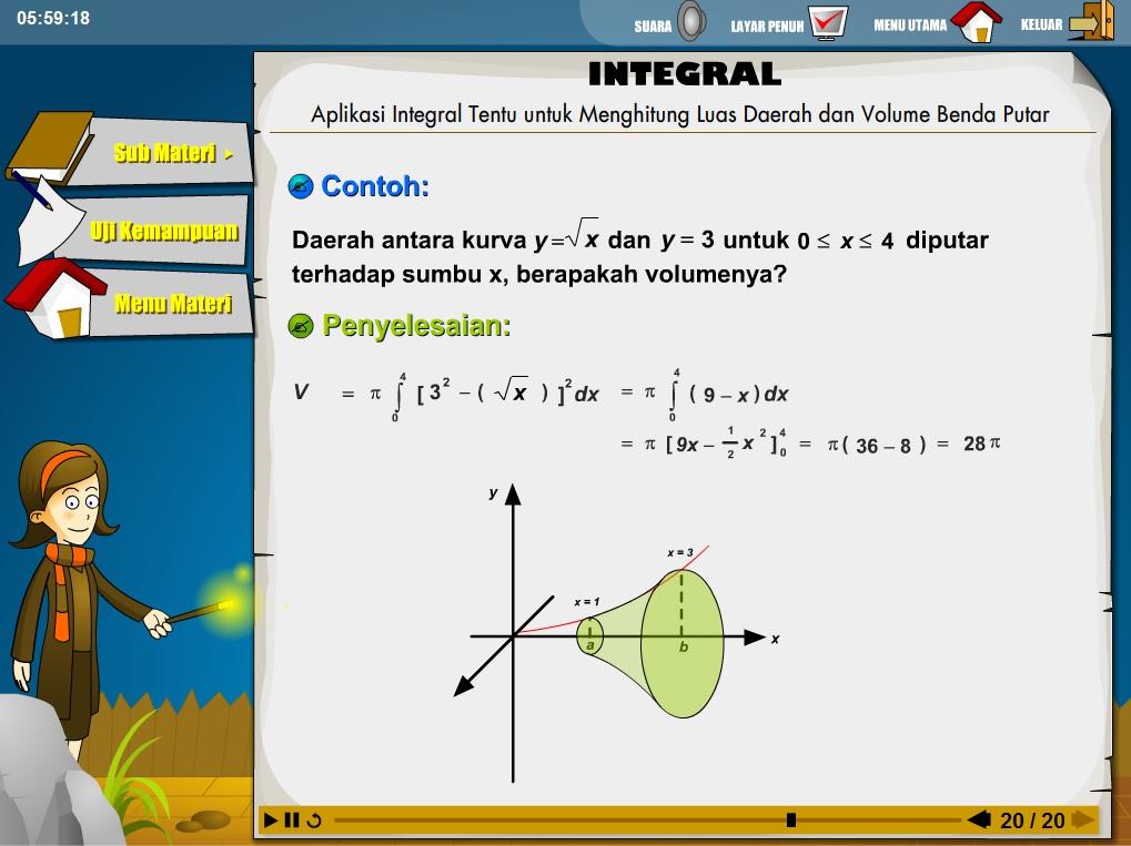 Media Pembelajaran Matematika SMA (flash) Yang Harus Dimiliki Siswa dan Guru Matematika