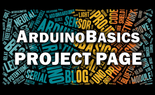 Arduino Basics: Arduino Basics Projects Page
