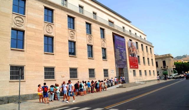 Tour pelo Museo Archeologico Nazionale di Reggio Calabria na região da Calábria