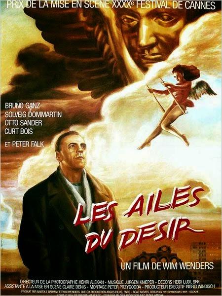 Les Ailes Du Désir, de Wim Wenders, avec Bruno Ganz au premier plan