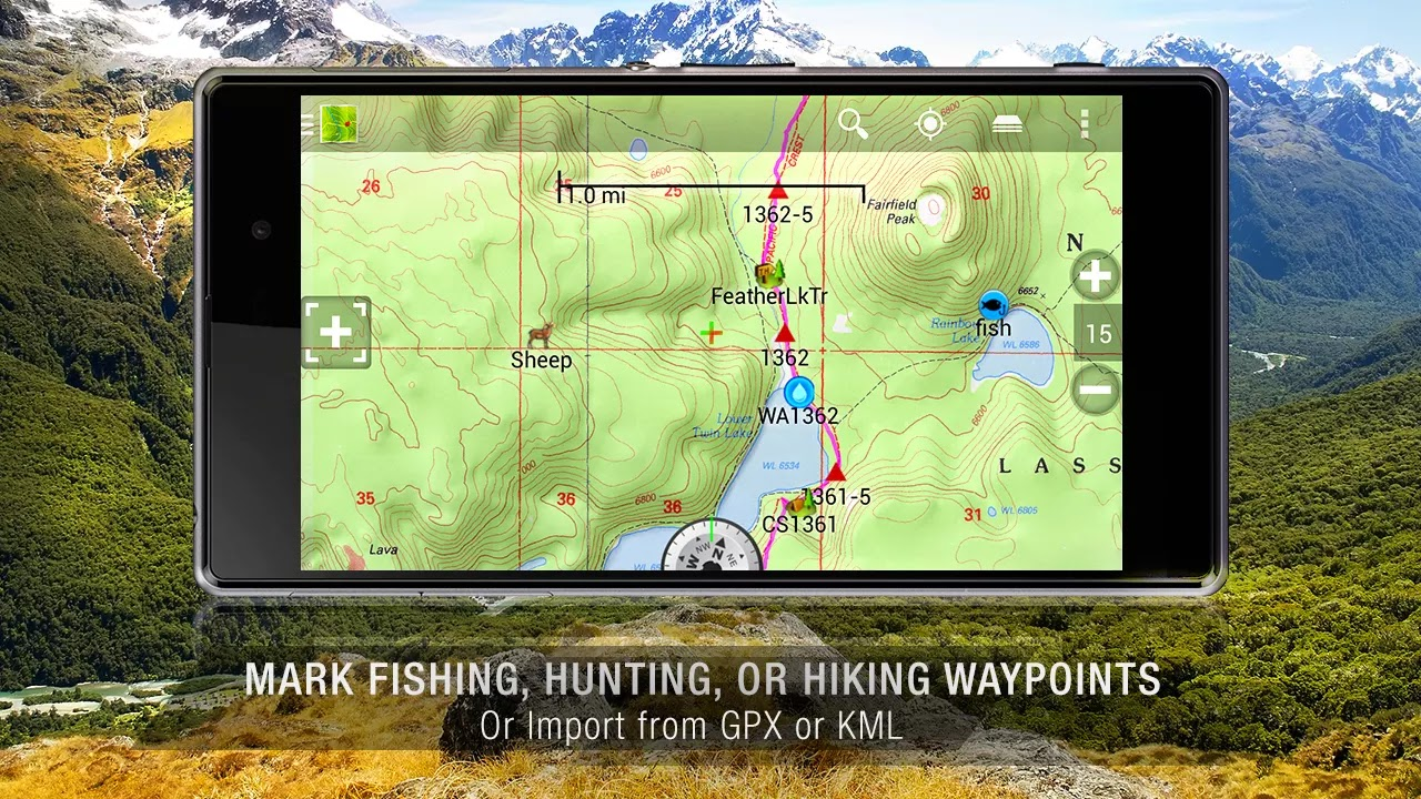 BackCountry Navigator TOPO GPS v5.5.6
