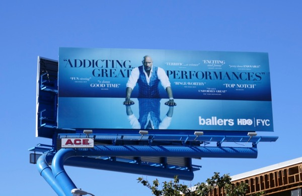 Ballers season 4 HBO FYC billboard