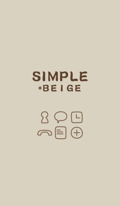 SIMPLE*beige*