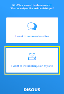 Start Install disqus tech mint