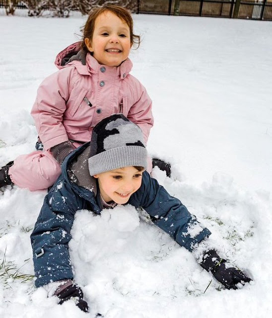 Princess Athena Of Denmark Celebrated Her 4th Birthday In The Snow
