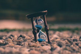 Hour Glass representing Time