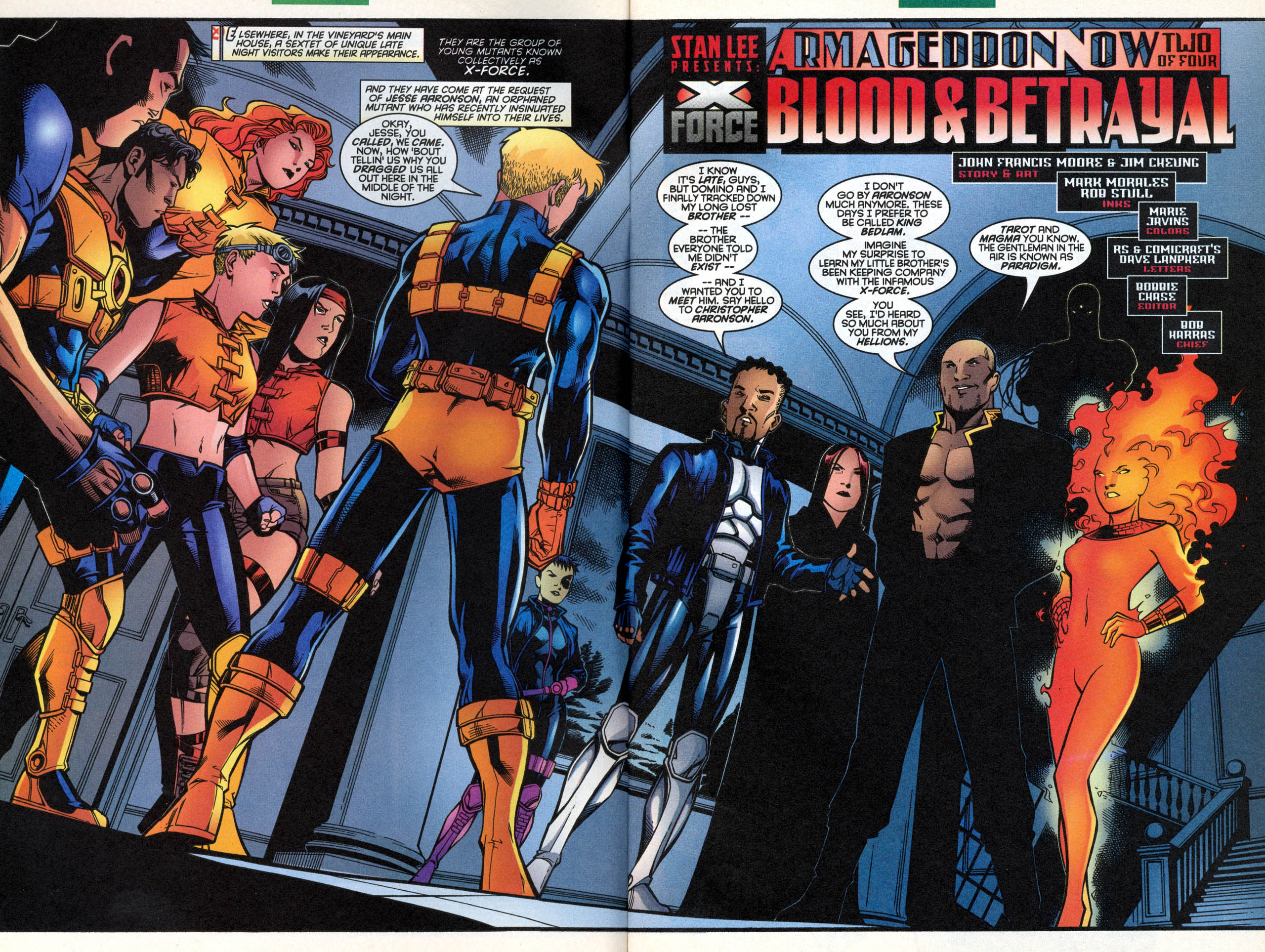Read online X-Force (1991) comic -  Issue #88 - 4
