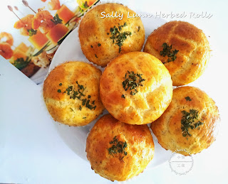 Sally Lunn Herbed Rolls from Little Joy Factory