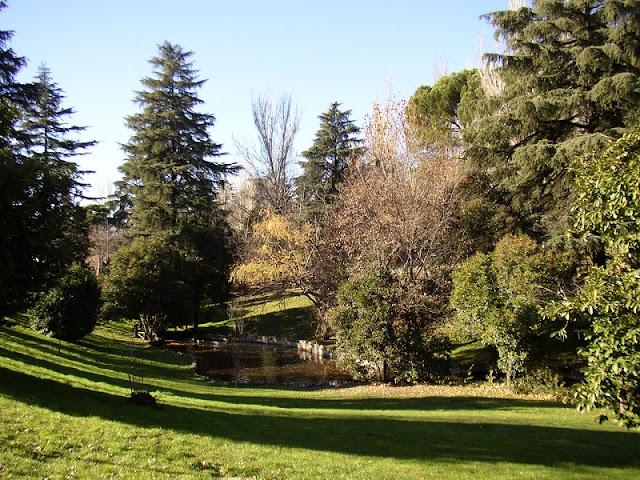 Parque del Oeste em Madri