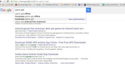 Fenomena Bermunculan Situs Download Game dan Aplikasi Android