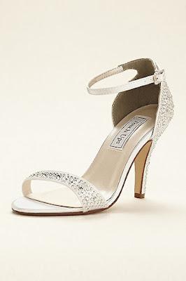 Zapatos blancos para señoras