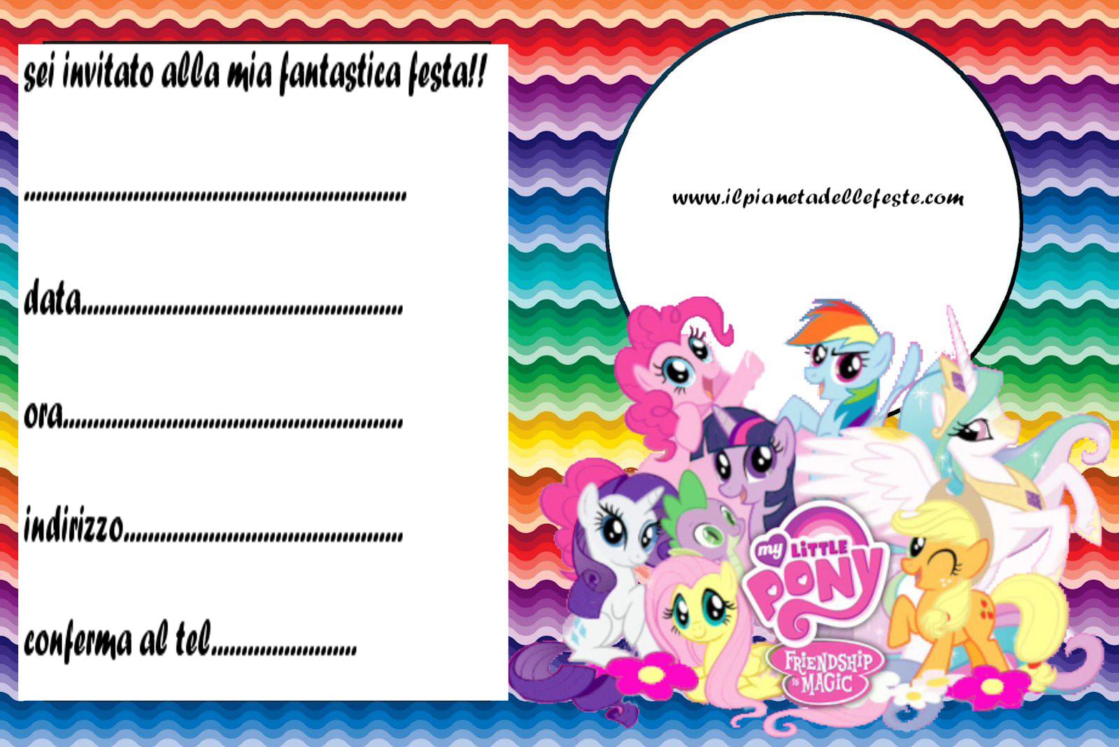 Festalandia e festeland bigliettini d 39 invito per feste a tema - Stampabili per bambini gratis ...