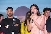Pujita Ponnada in transparent sky blue dress at Darshakudu pre release ~  Exclusive Celebrities Galleries 041.JPG