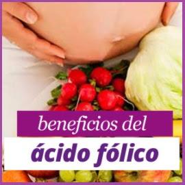 beneficios del acido folico