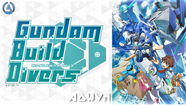 1421f4db4995502b954314a46cc7956f1522681199 full - [ Anime 3gp Mp4 ] Gundam Build Divers | Vietsub